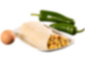 Breakfast Burrito Blurred