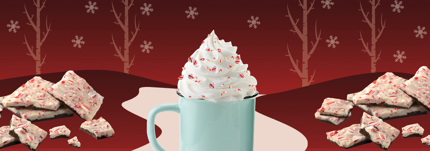 'Tis the Season for Peppermint Bark Drinks blog image