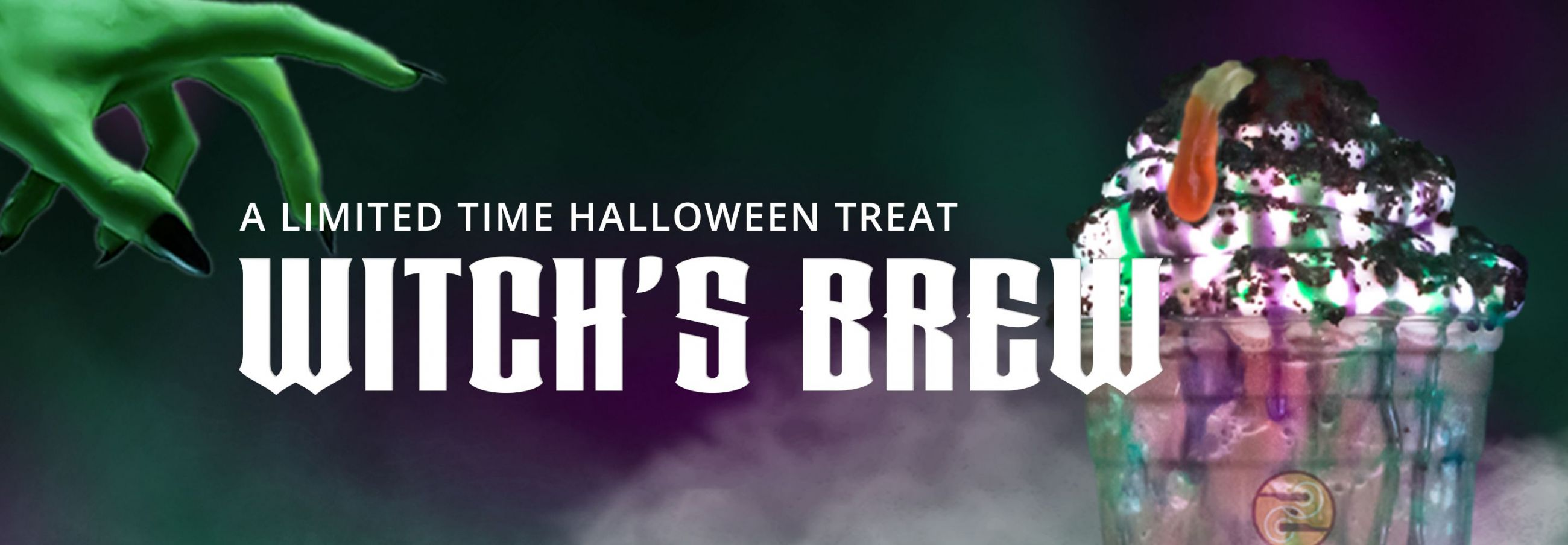 A Limited Time Halloween Treat Witch's Brew