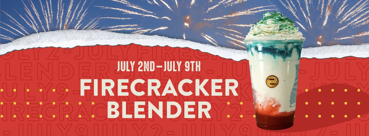 Celebrate With Our Limited-Time Firecracker Blender! blog image