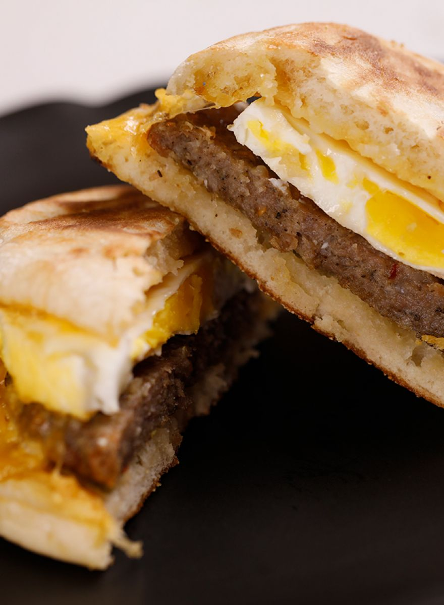 Breakfast Sandwiches photograph