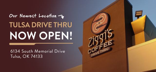 Photo of new Ziggi's Coffee Tulsa Location