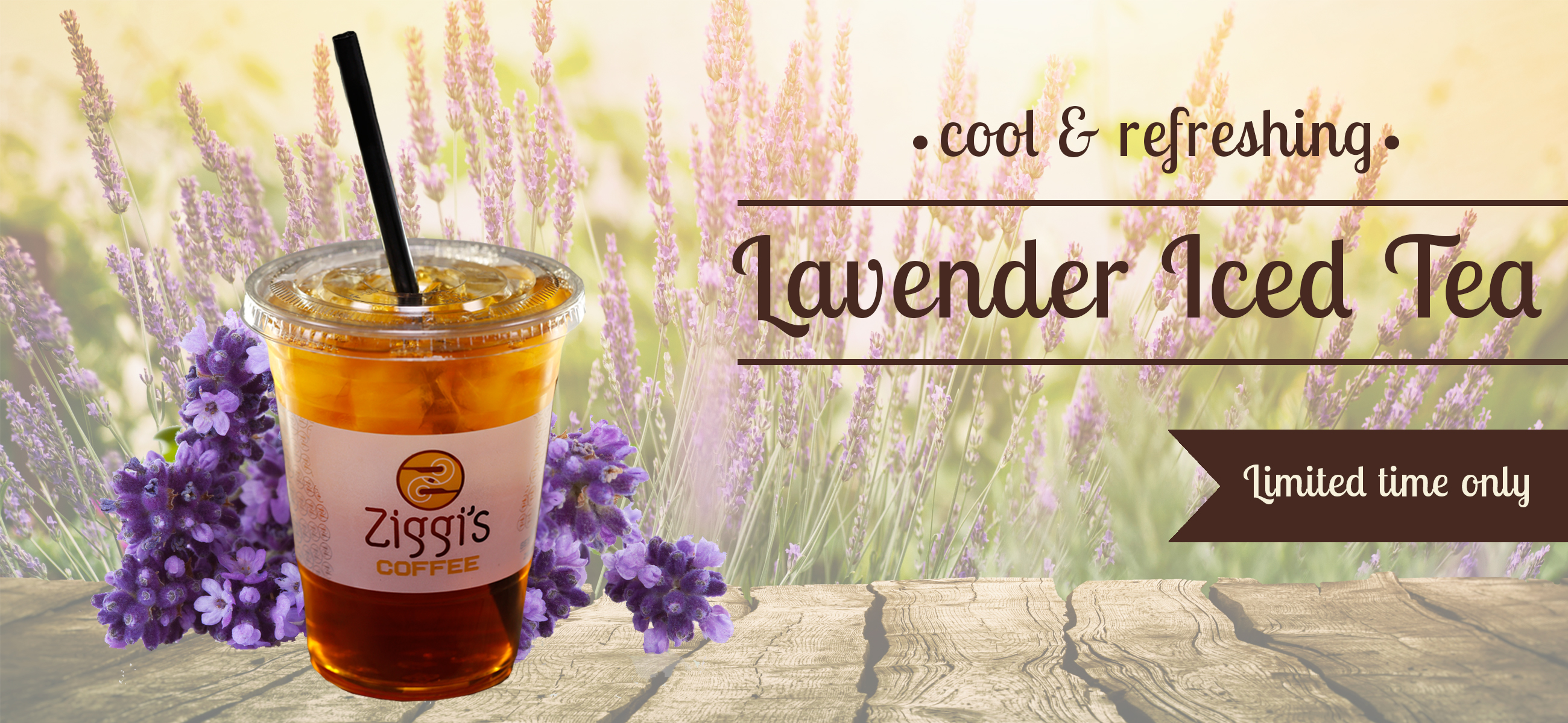 Lavender Iced Tea | Limited Time Only