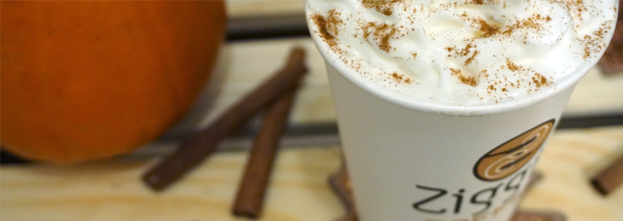 Fall Flavors at Ziggi's Coffee blog image