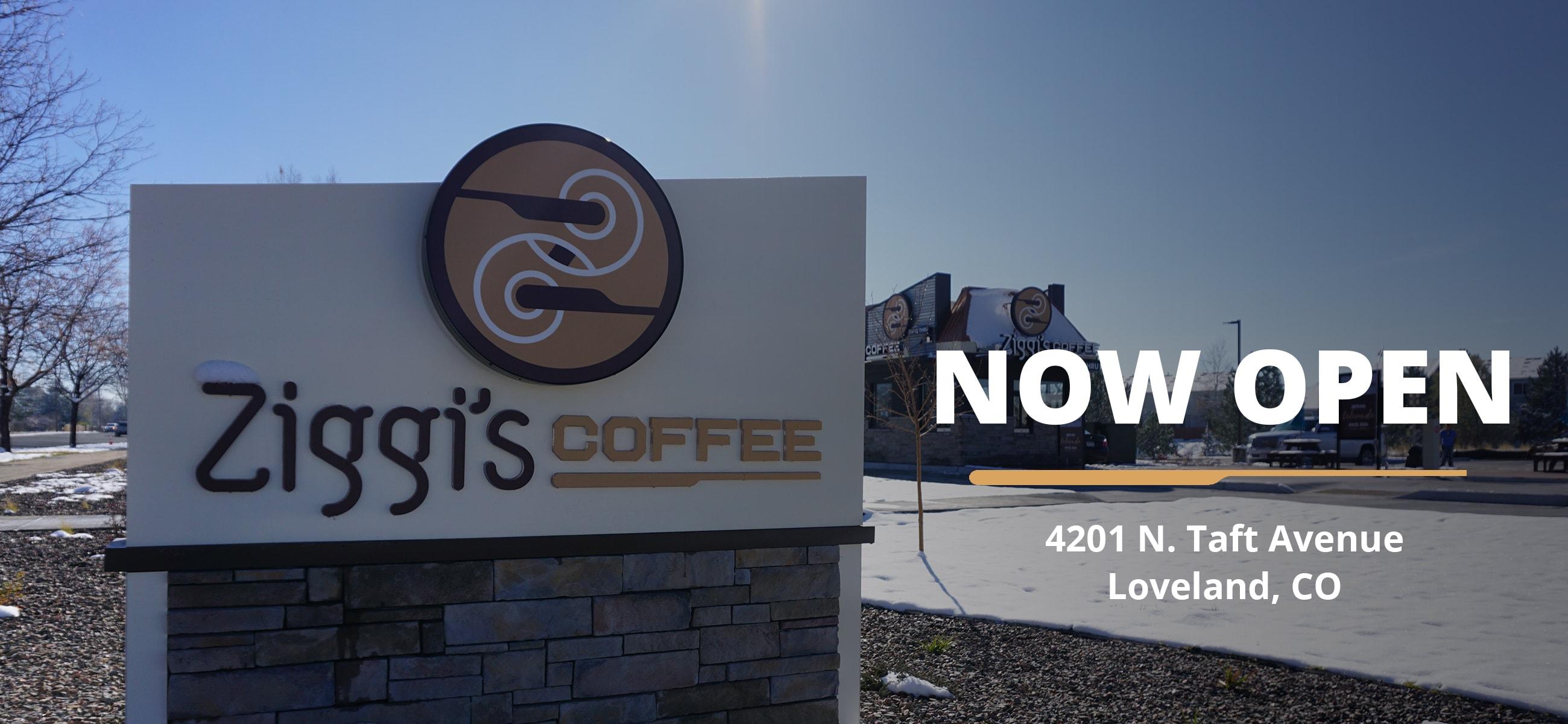 Photo of new Ziggi's Coffee Loveland location